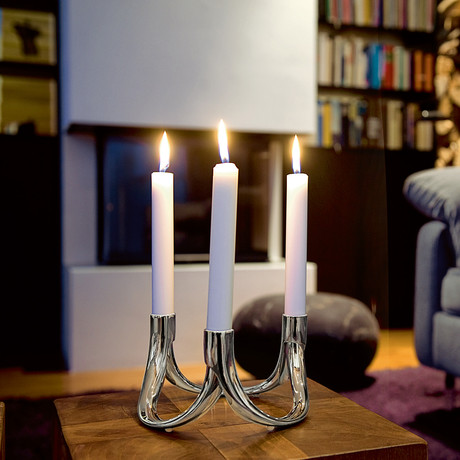 Bow Candle Holder (Set of 2)
