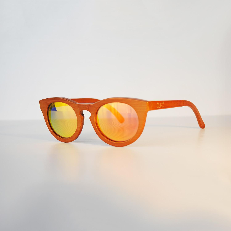 214e0666cb4f Owl 6 // Dark Brown (Red Lenses) - Gufo Sunglasses - Touch of Modern