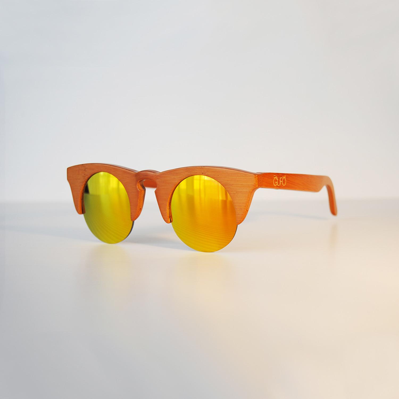 2b09eaf90093 Owl 1 // Dark Brown (Brown Lenses) - Gufo Sunglasses - Touch of Modern