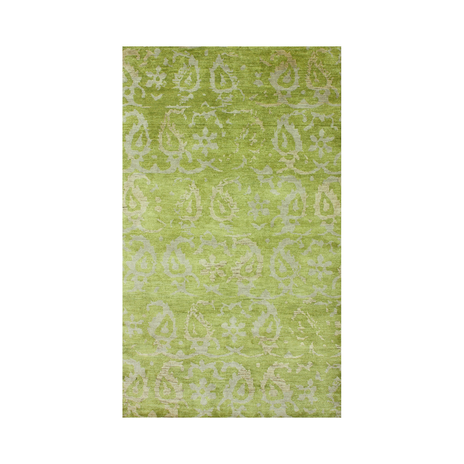 Hand-Knotted Marion Rug // Sage Green