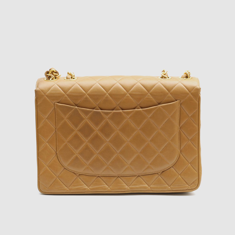 Chanel Väskor Vintage : Vintage chanel classic large jumbo flap bag quilted