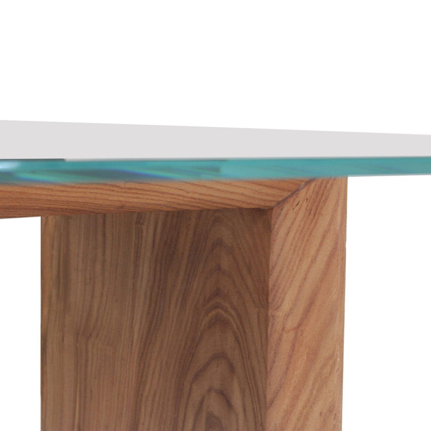glass top solid wood dining table rotsen furniture touch of