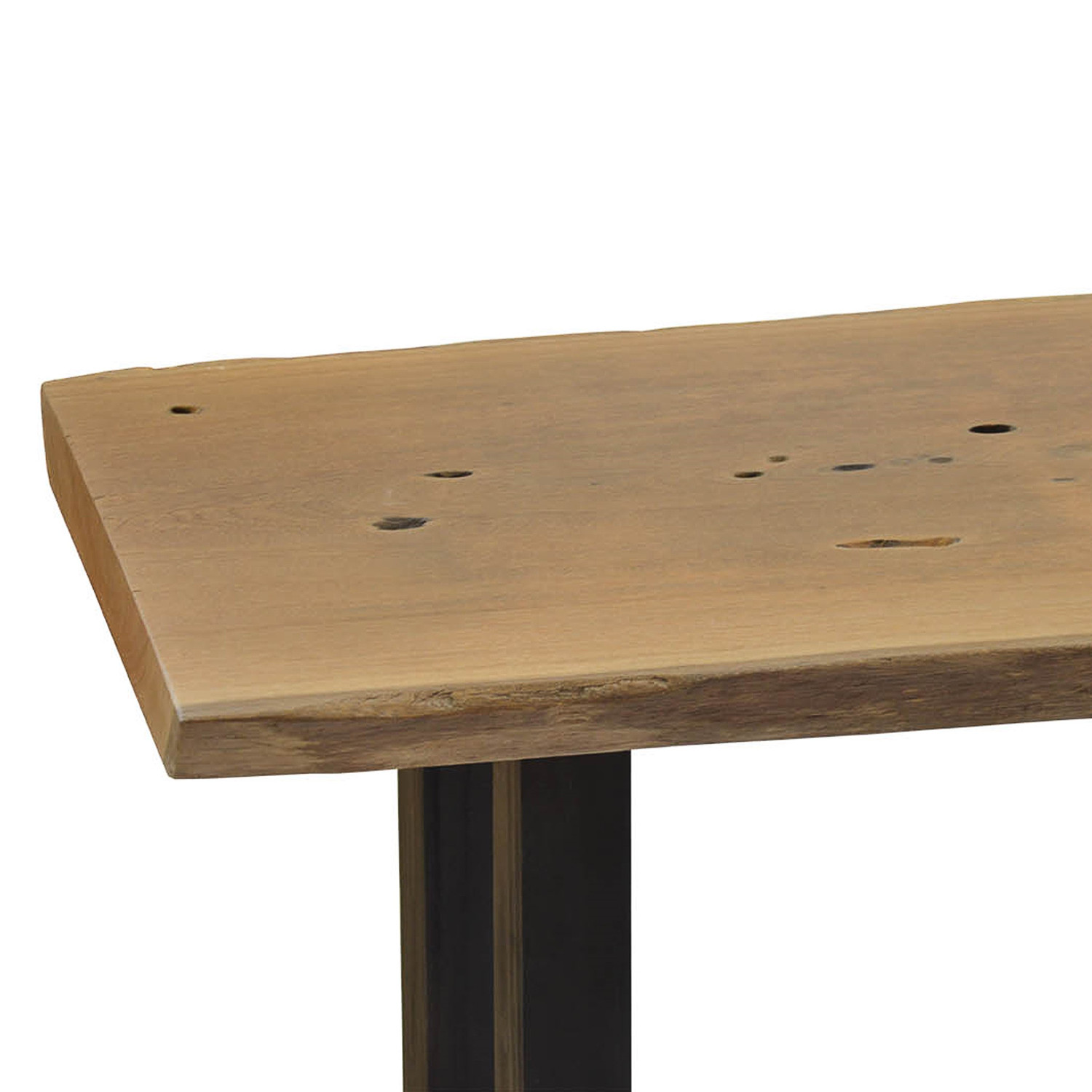 Live Edge Pequi Solid Wood Contemporary Console Rotsen