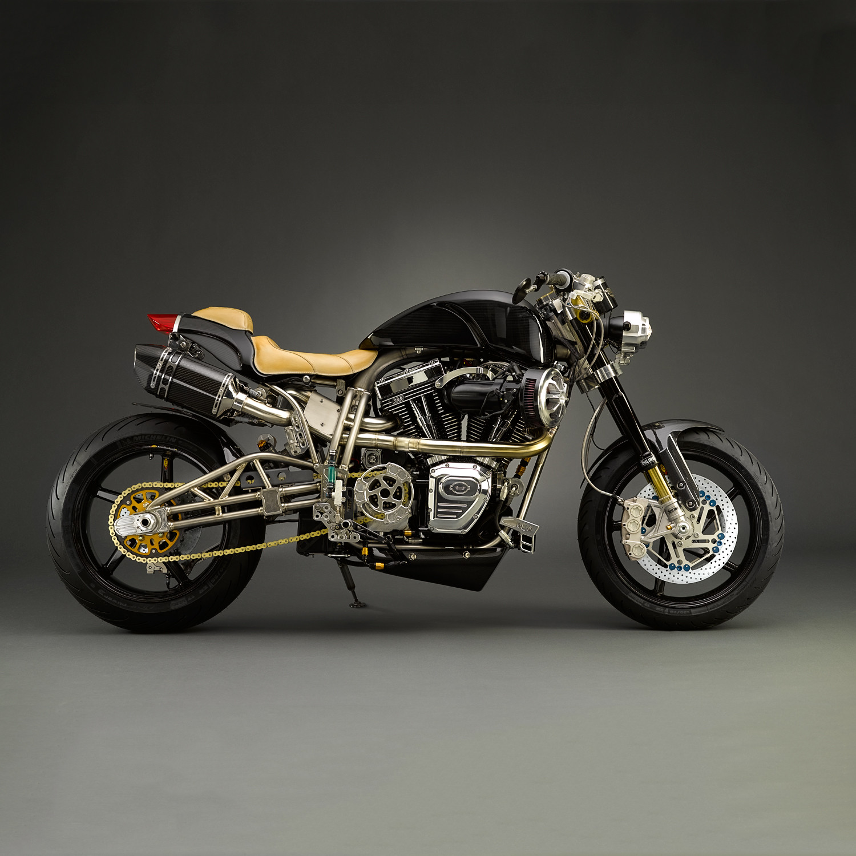 ECOSSE Founder's Edition Titanium Motorcycle - ECOSSE Moto Works ...