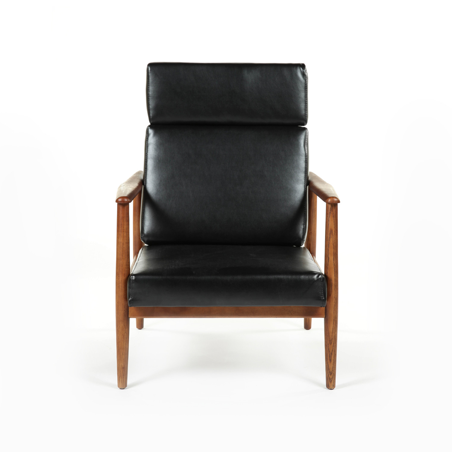 Mid Century Modernist High Back Or Desk Chair W New: The Aalborg High Back Chair (Black)