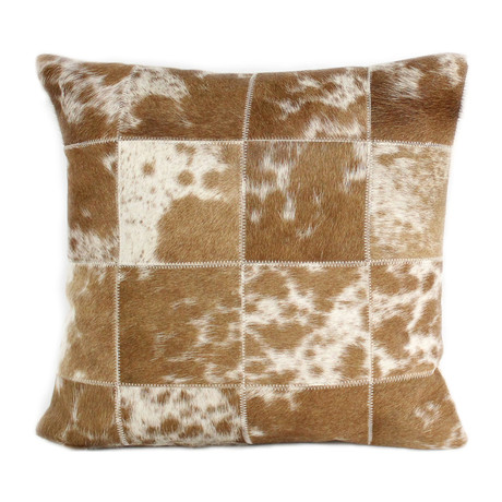 "Kilmer // Pillow // Camel (1'6"" x 1'6"")"