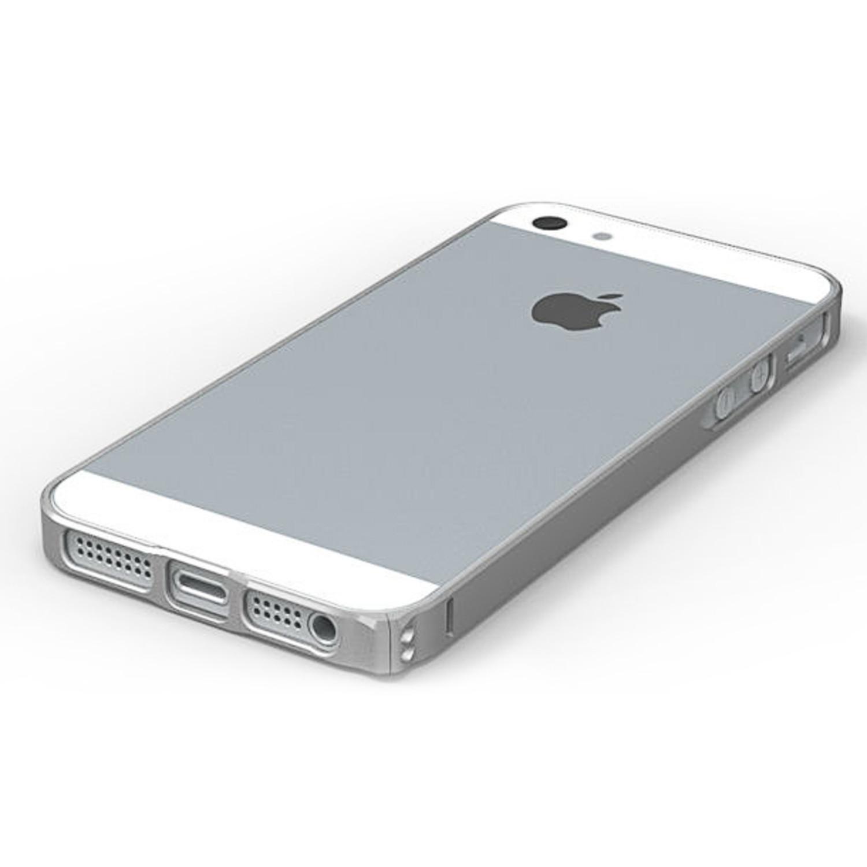 Plasma Bumper Case Silver Iphone 5 5s Plasma Bumper Case