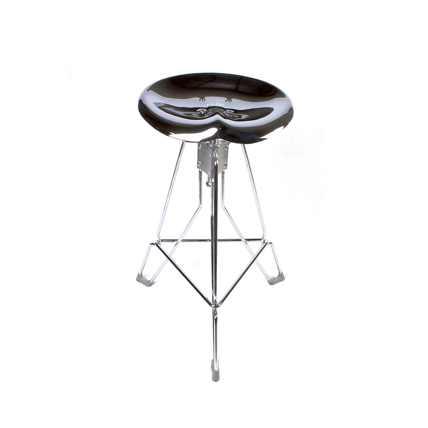 Clipper Bar Stool (Chrome) - Dulton USA - Touch of Modern