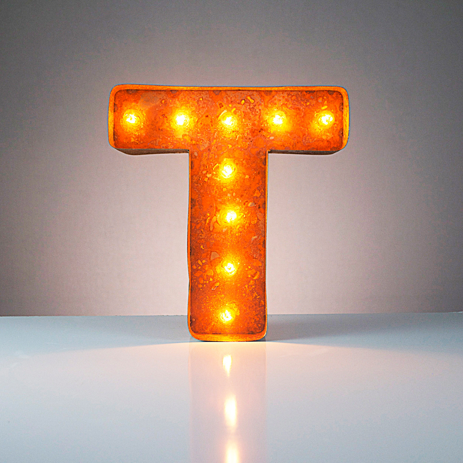 """Letter T (24"""") - Vintage Marquee Lights - Touch of Modern"""