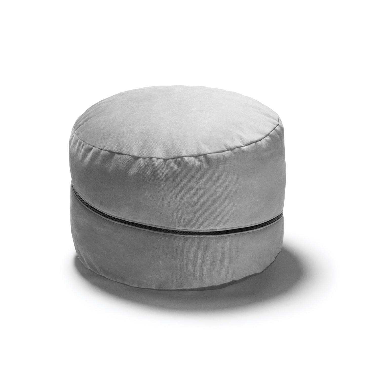 jaxx peachtree pouf round bean bag ottoman black jaxx touch of modern. Black Bedroom Furniture Sets. Home Design Ideas