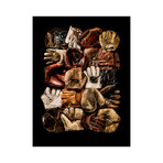 "Baseball Glove Compilation (12"" x 16"")"