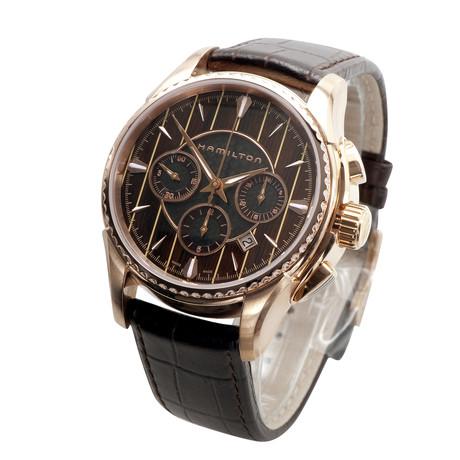 Hamilton Aqua RIVA Chronograph // Gold