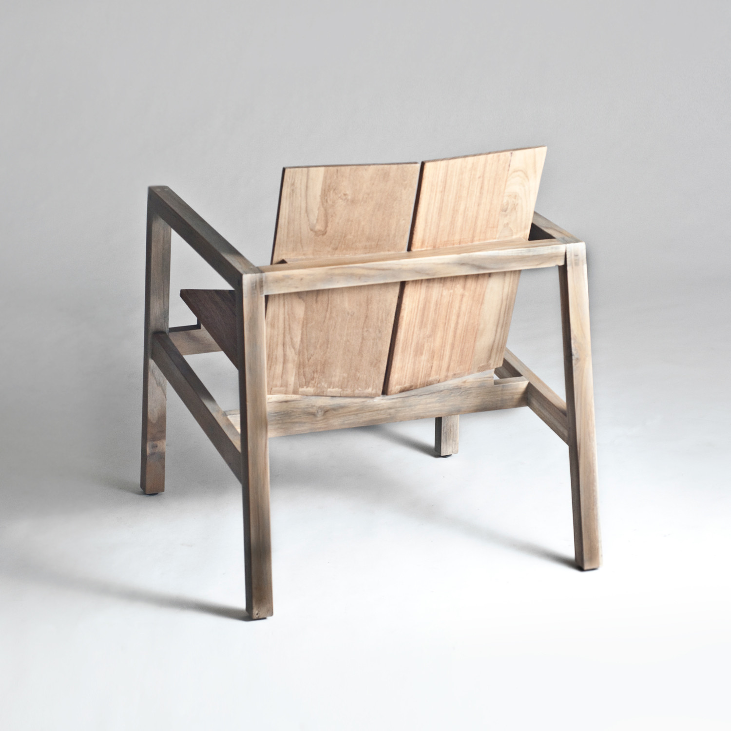 Old Wood Arm Chair Urbia Touch Of Modern. Full resolution  photograph, nominally Width 1500 Height 1500 pixels, photograph with #8C633F.