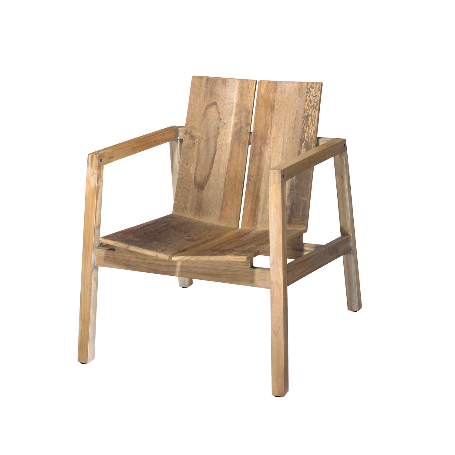 Amazing photo of Old Wood Arm Chair Urbia Imports Touch of Modern with #996632 color and 1500x1500 pixels