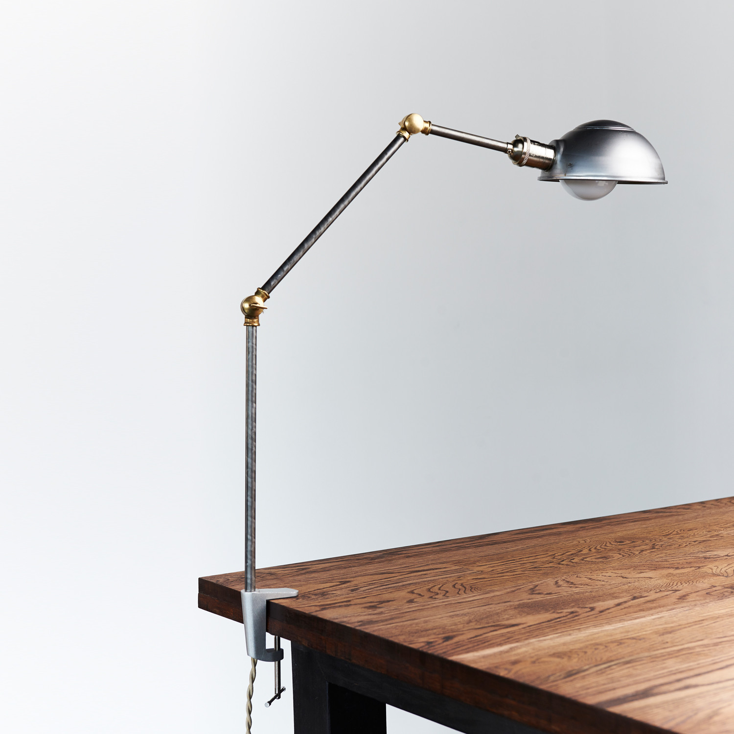 Image of: Industrial Clamp Desk Lamp
