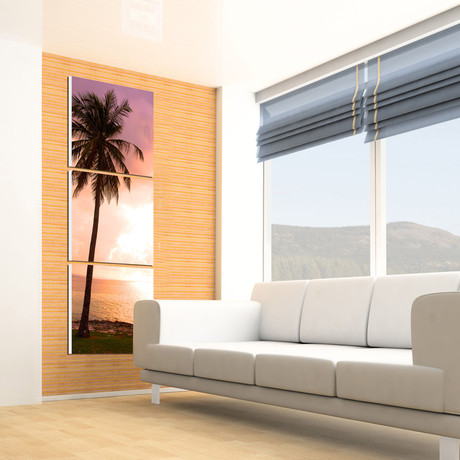 "Vertical Palm Tree (60""H x 20""W x 1""D)"