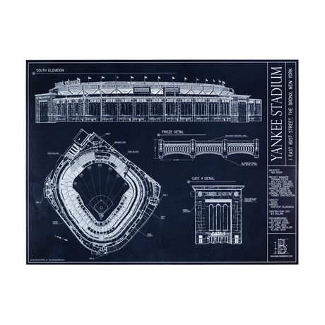 Ballpark blueprints the art of ballpark architecture touch of modern yankee stadium new york yankees malvernweather Images