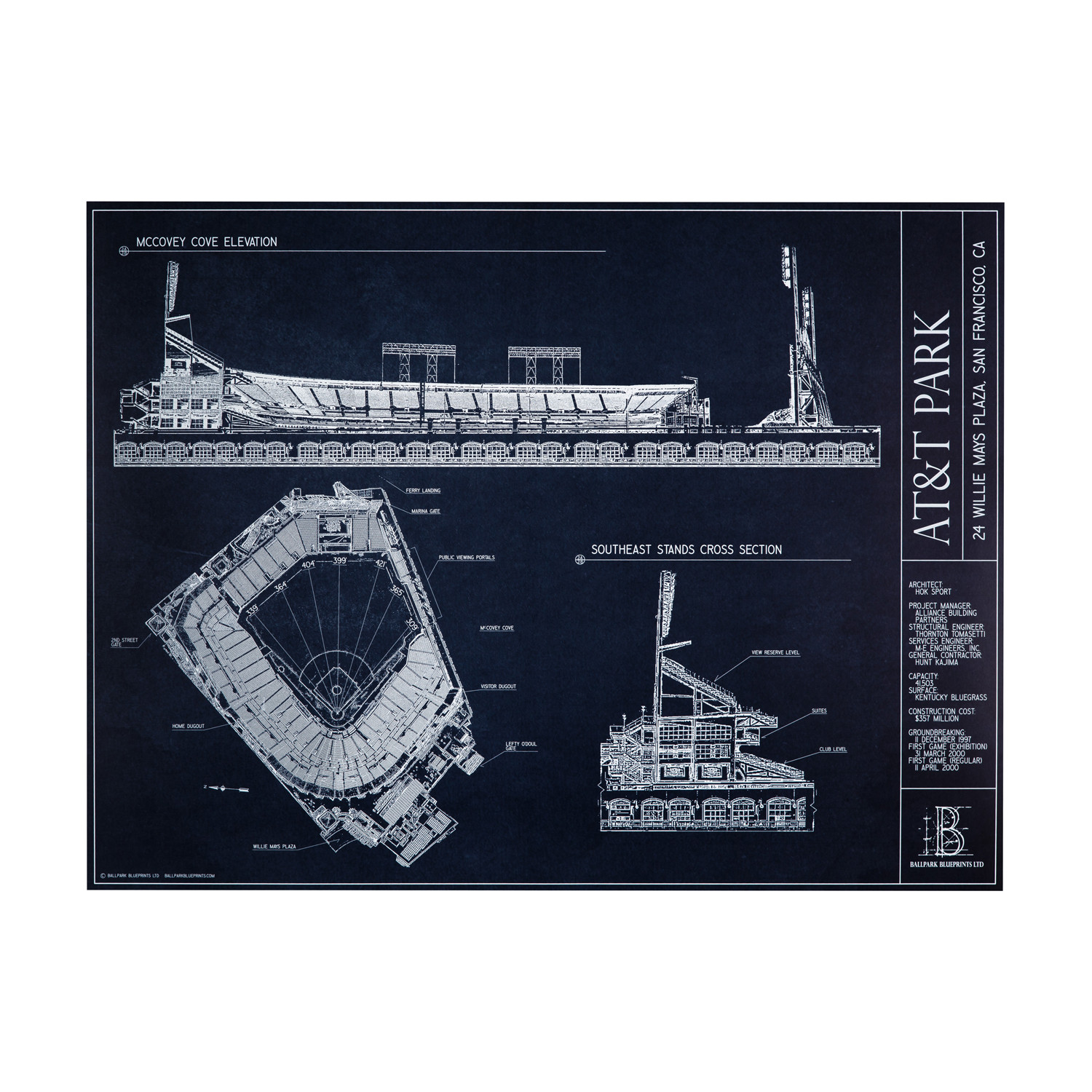 Att park san francisco giants ballpark blueprints touch of att park san francisco giants malvernweather