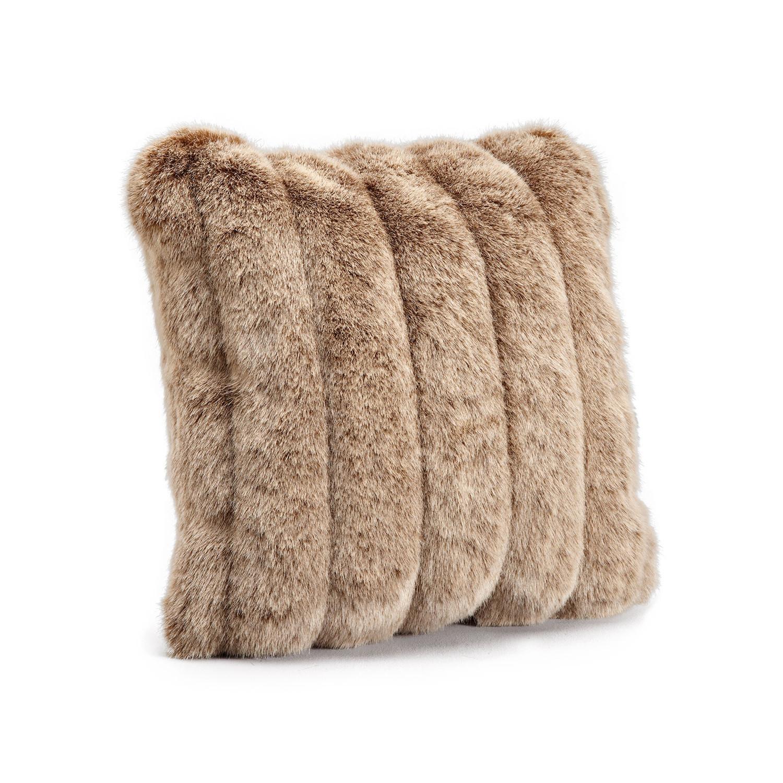 "Signature Faux Fur Pillow // Red Fox (20"" x 20"") - Fabulous Furs ..."