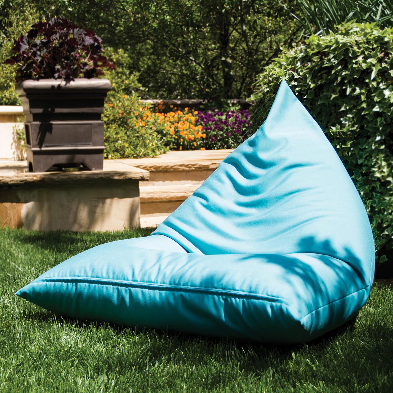 Jaxx Twist Outdoor Bean Bag Light Blue Jaxx Outdoor