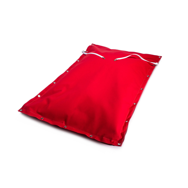 jaxx oconee floating bean bag red jaxx outdoor touch of modern. Black Bedroom Furniture Sets. Home Design Ideas