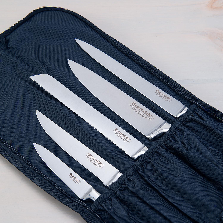 Messerstahl 5 Piece Knife Set Messerstahl Touch Of Modern