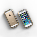 iPhone 5/5S Case // Gold + Black