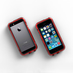 iPhone 5/5S Case // Red + Black