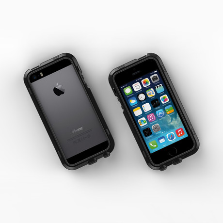 iPhone 5/5S Case // Black + Black