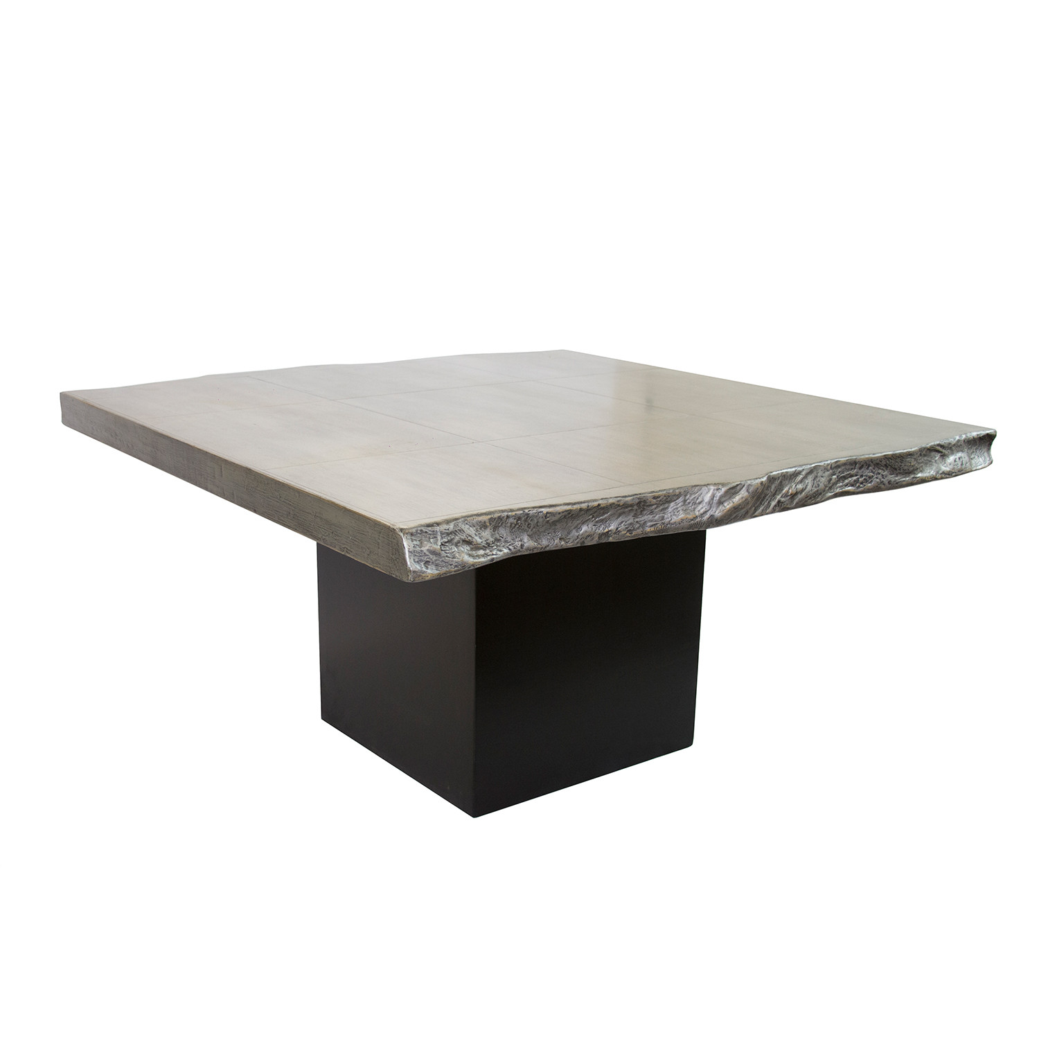 Lombard gray and black dining table madera home touch of modern lombard gray and black dining table geotapseo Gallery
