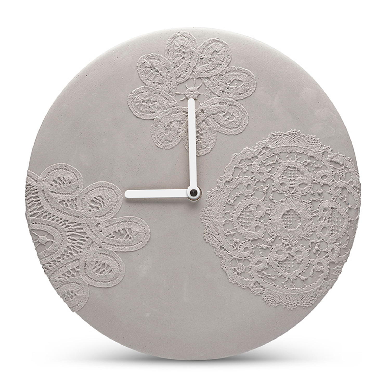 wall clock small mensch made touch of modern. Black Bedroom Furniture Sets. Home Design Ideas