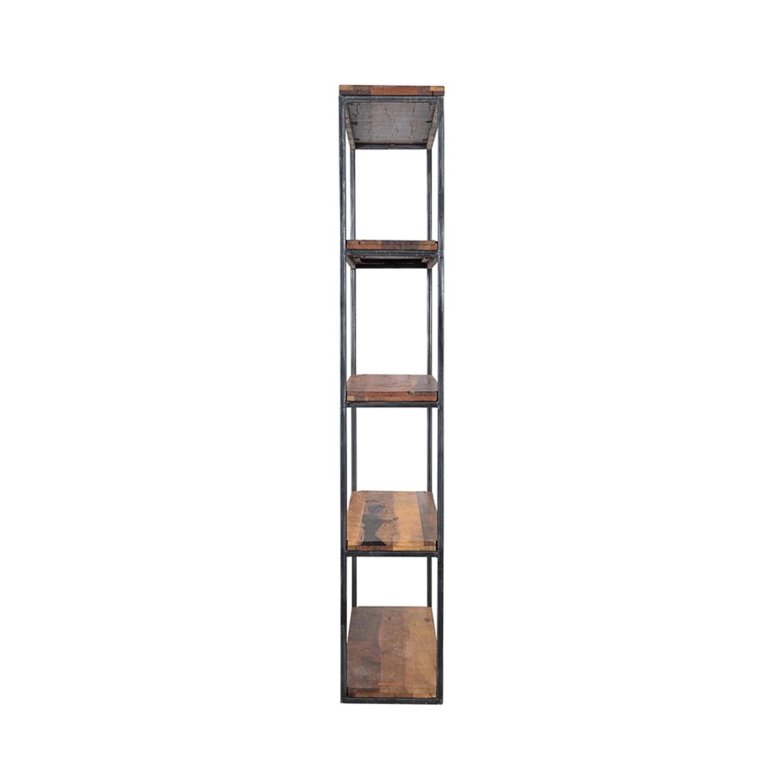 reclaimed wide railwood bookshelf cdi furniture touch of modern