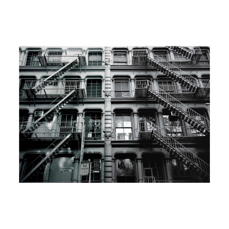 Apartment Block: New York Apartment Block