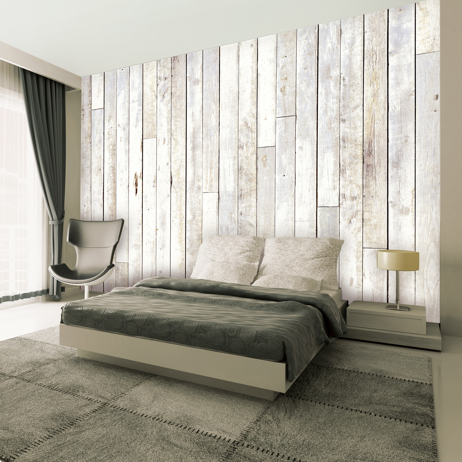 boathouse wood 4 8pc giant wall murals touch of modern