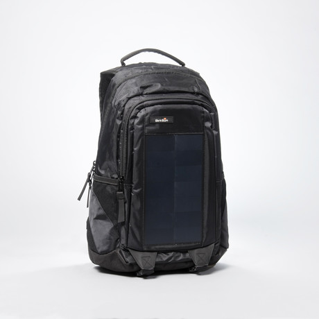 Elevate Solar Backpack Black Birksun Touch Of Modern