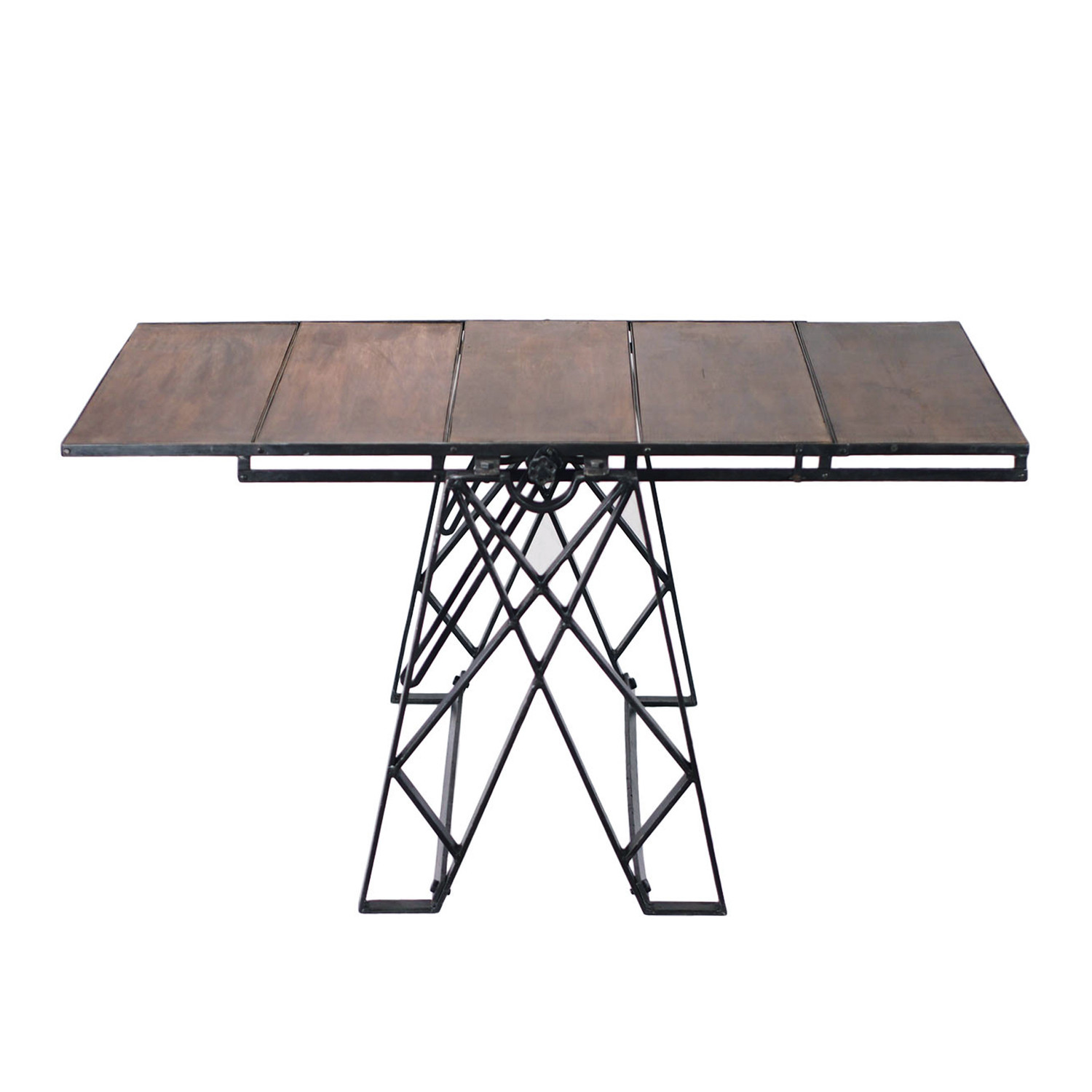 Allegheny Convertible Five Tier Shelf And Table Crash