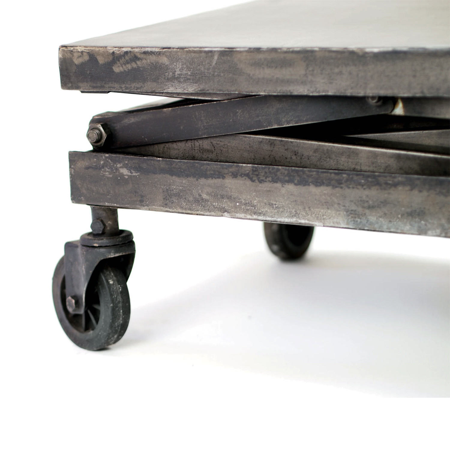 adjustable iron apothecary table crash industrial supply co