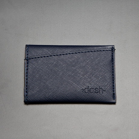 Dash Wallet // TRIM Saffiano Wallet // Navy