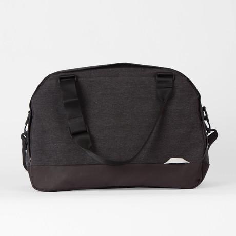 Weekender Travel Bag 300 // Waxed Chambray (Black)