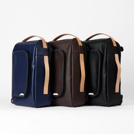 R Bag 205 // Mini Saffiano (Black)