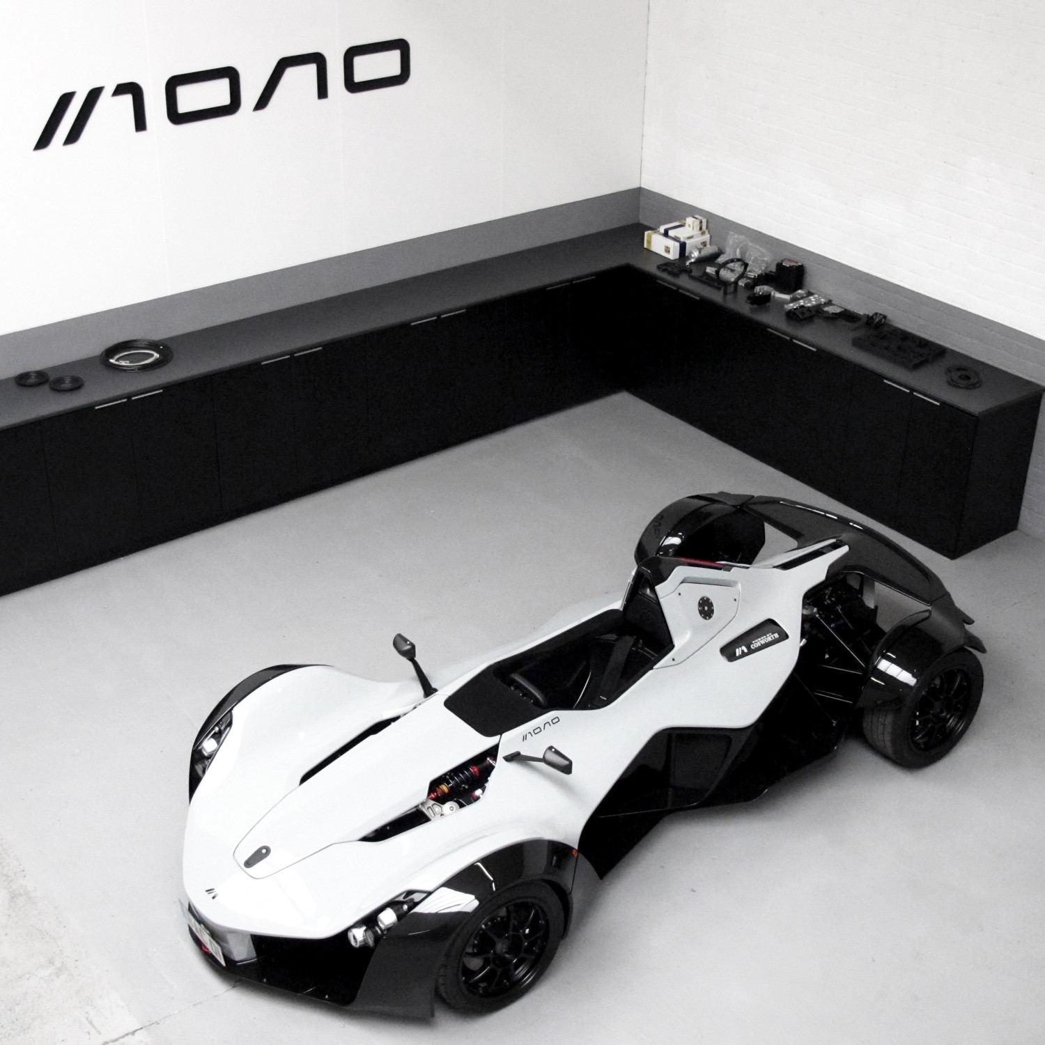 bac mono bac mono single seat racer touch of modern. Black Bedroom Furniture Sets. Home Design Ideas