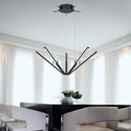 Starflex™ LED Pendant (Bright Satin Aluminum Finish)