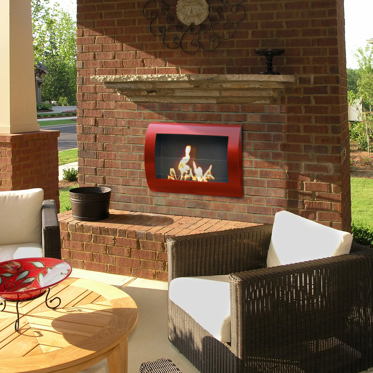 Chelsea Stainless Steel Anywhere Fireplaces Touch Of Modern