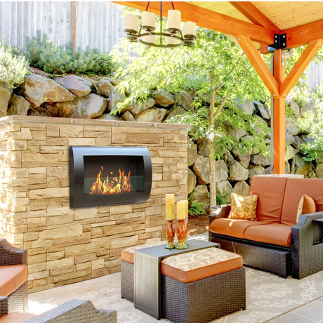 Anywhere Fireplaces Fireside Style Touch Of Modern