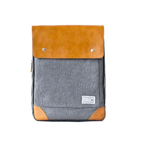Flatsquare Backpack // Grey