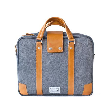 Hamptons Briefcase // Grey