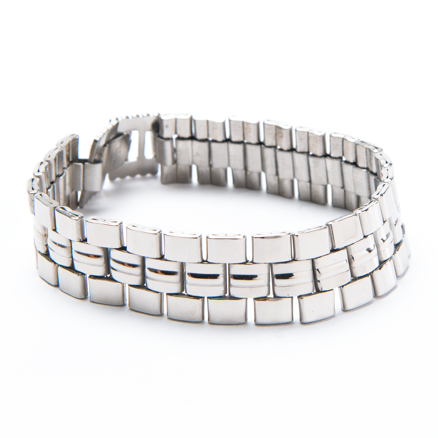 Watch Band Style Bracelet