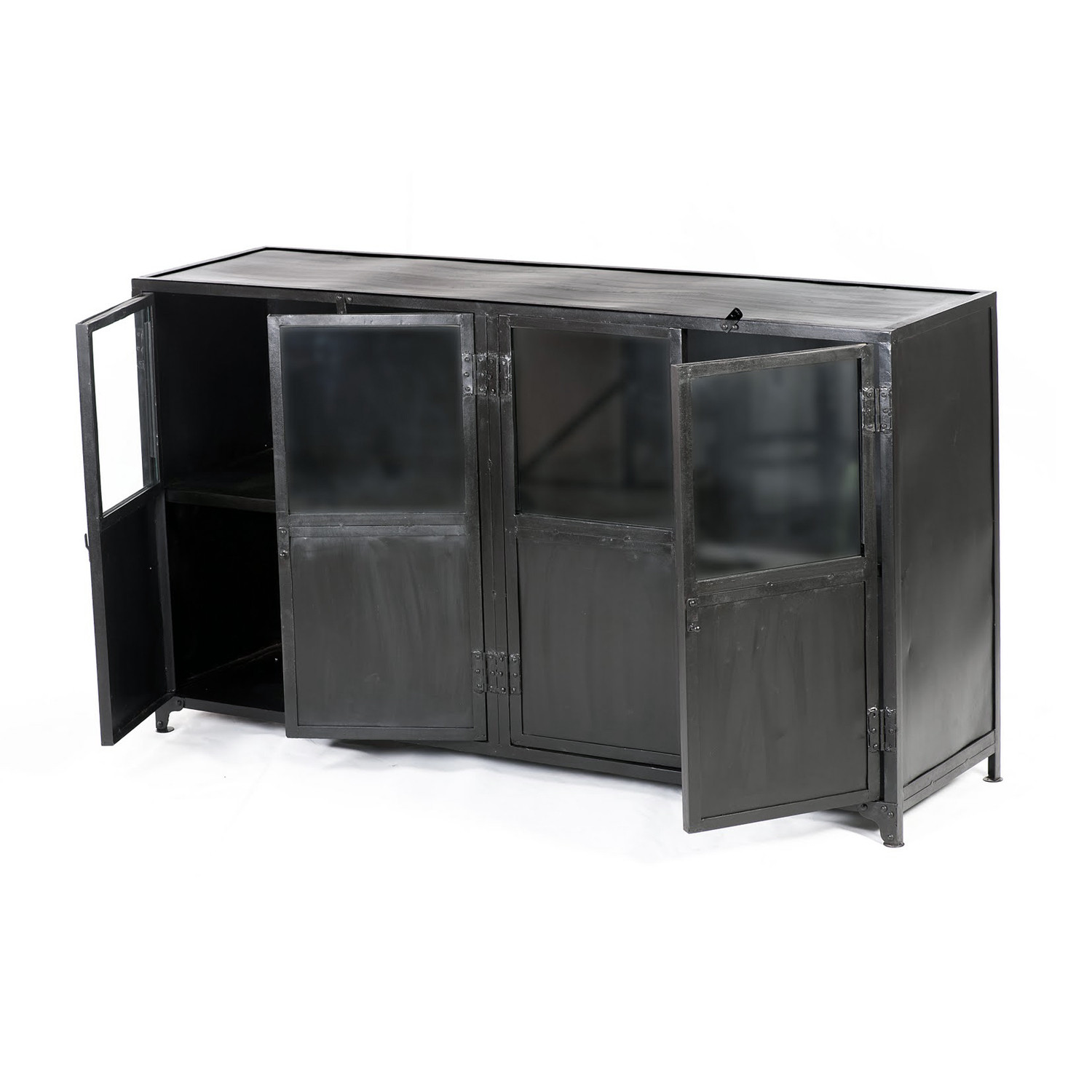 Sideboard Industrial industrial buffet sideboard cdi furniture touch of modern