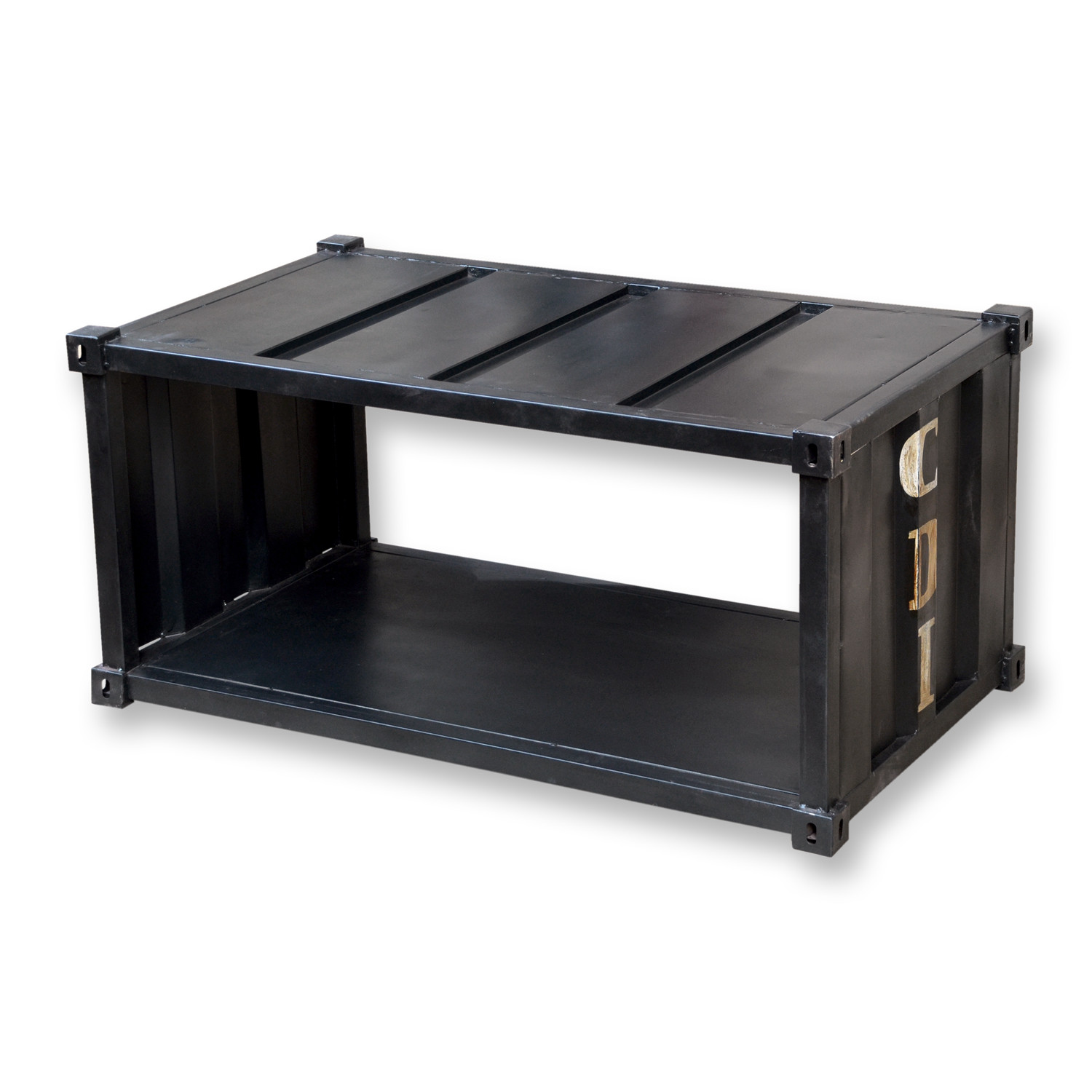 Container Style Coffee Table CDI Furniture Touch of Modern