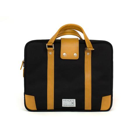 Hamptons Briefcase // Black